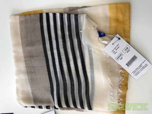 Miller & Monroe Scarves - Various Colors and Types (10,330 Pieces)