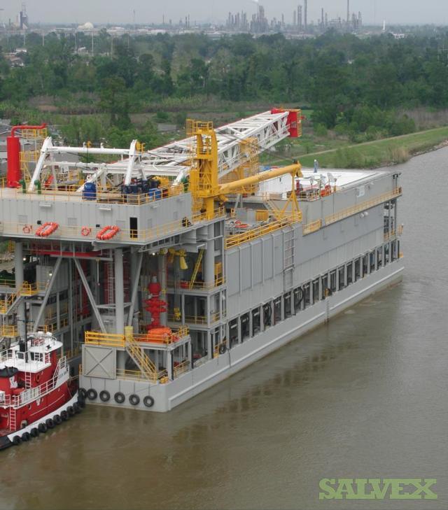 Barge Rig Drawworks EMSCO C-3, 3000 HP, Power (4) CAT D3516, Pump (3) LEWCO 2200 HP, 7500psi