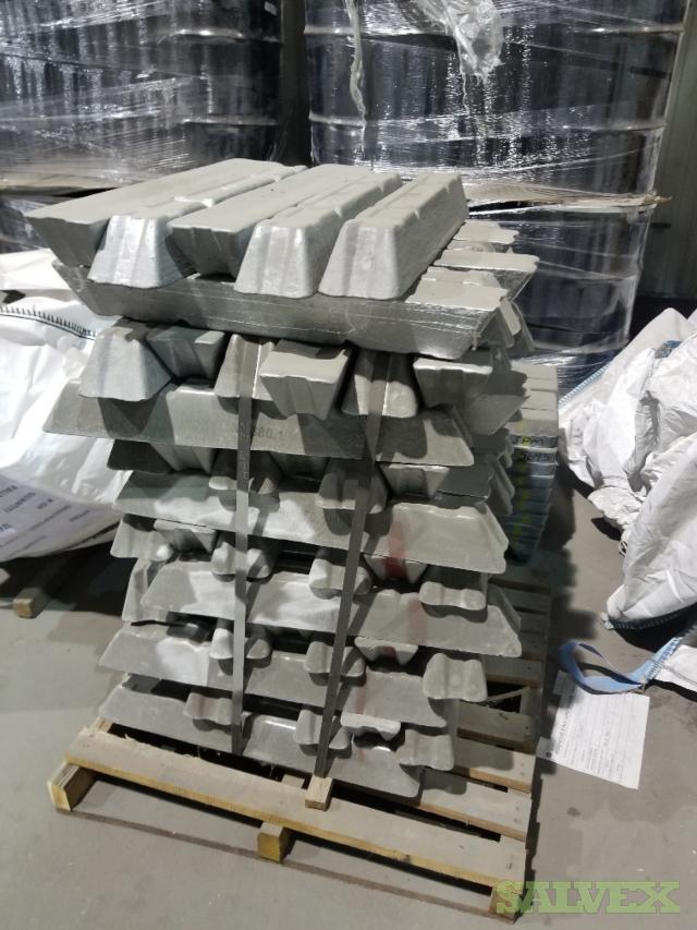 Metals: Nickel, Tin, Cooper, NASAAC, Zinc, Aluminum Coils (15 Tons)