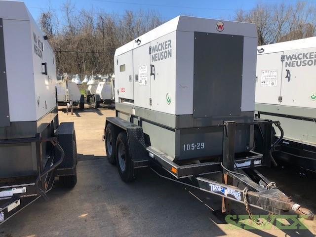Wacker Neuson G120 Diesel Portable Generator (1 unit)
