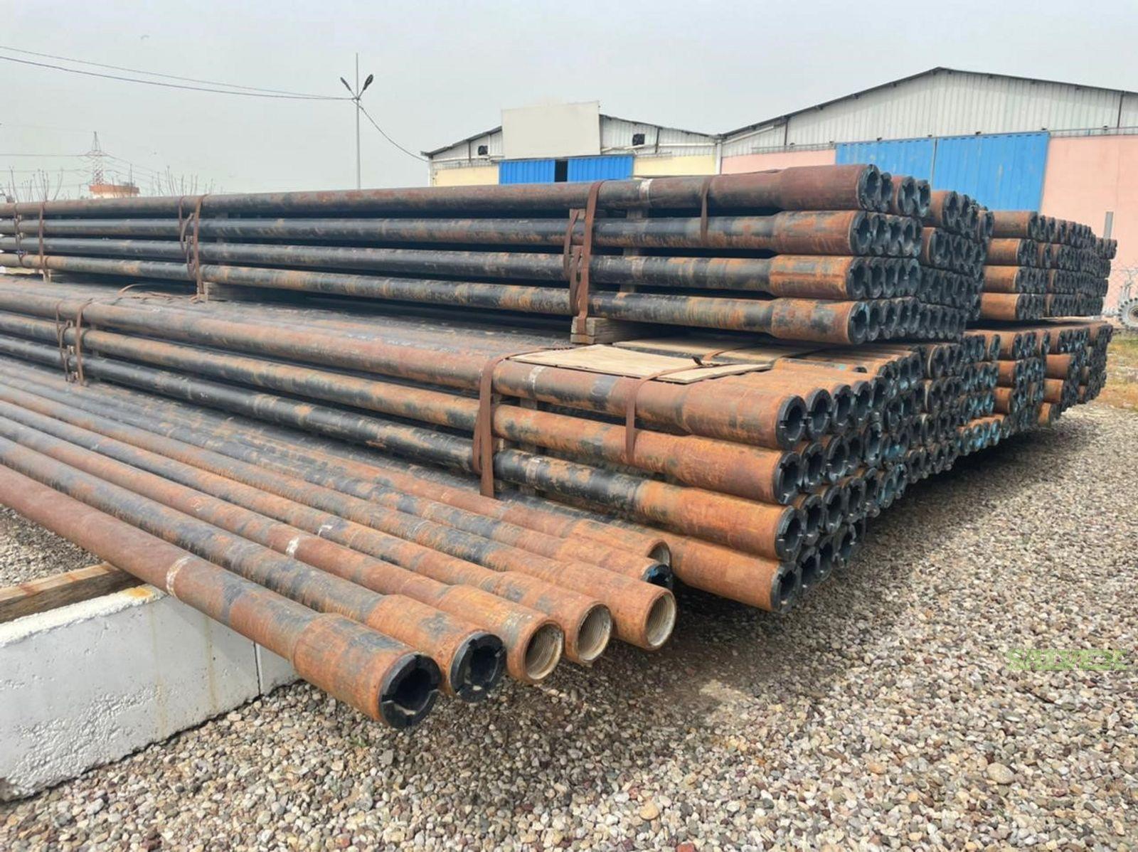 5 19.5# S-135 NC50 Surplus Drill Pipe (10,256 Feet / 105 Metric Tons)