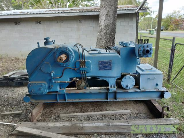 Rongsheng Machinery Manufactured PAH350 Triplex Mud Pump 2014 (1 Unit)