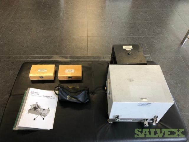 Yantrika Brand  Dead Weight Tester DWT 300 Dual Range, Industrial Pressure Calibrator (1 Unit)