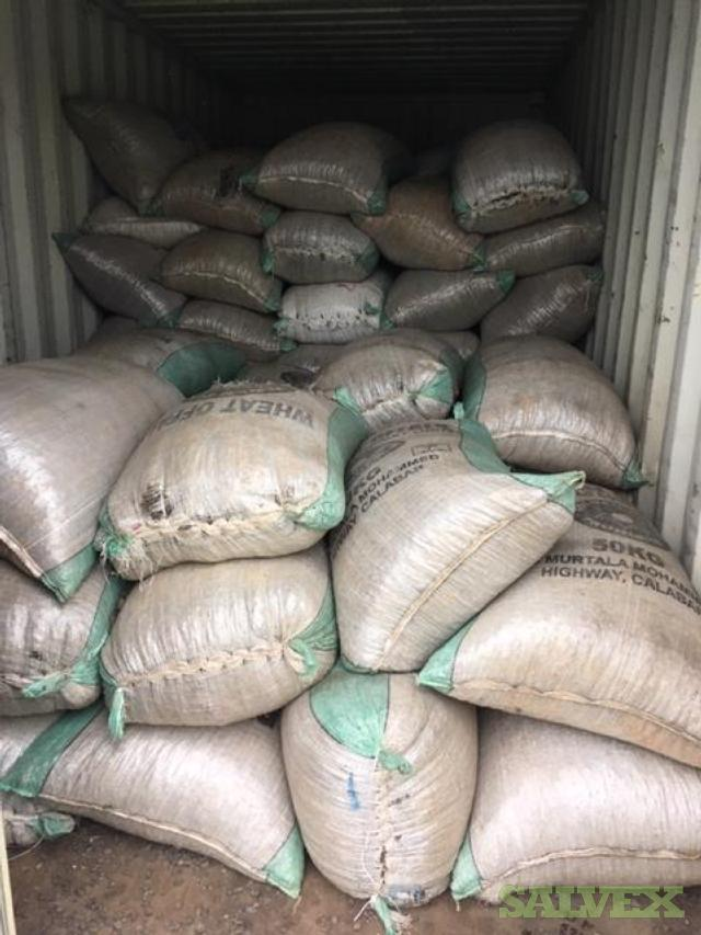 Palm Kernel Shell (PKS) - Used for Biomass Energy Generation (11,000 Kgs / 109 Bags)