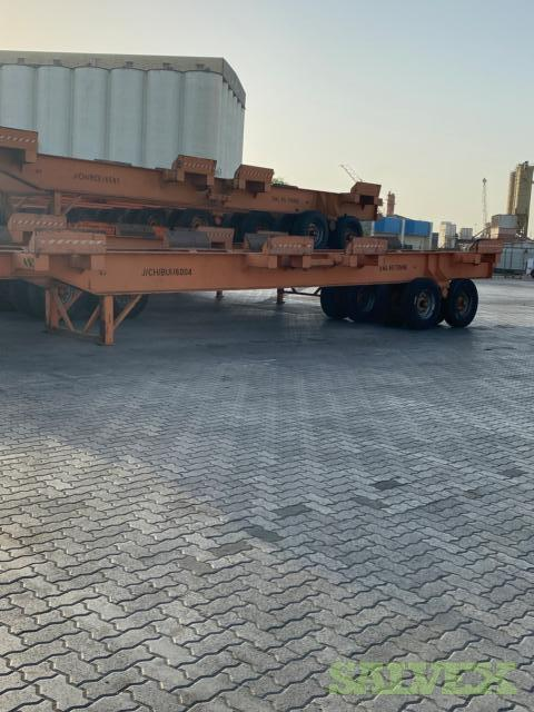 RCE 65-20/20 Trailers 65T Capacity (17 Trailers)