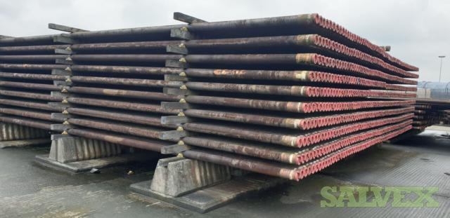 4 1/2 12.60# L80 Vam Top R2 Surplus Tubing (6,930 Feet / 40 Metric Tons)