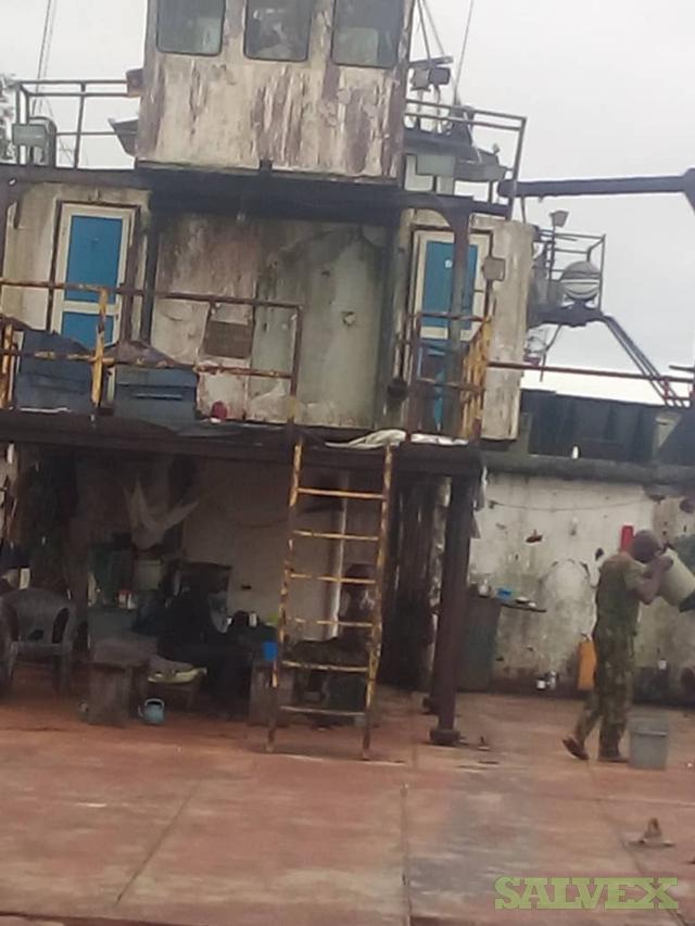 Scrap Offshore Supply Vessel (159 Metric Tons)