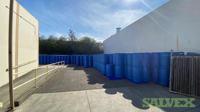 HDPE Food Grade 55-Gallon Plastic Drum Barrels (500 Barrels)