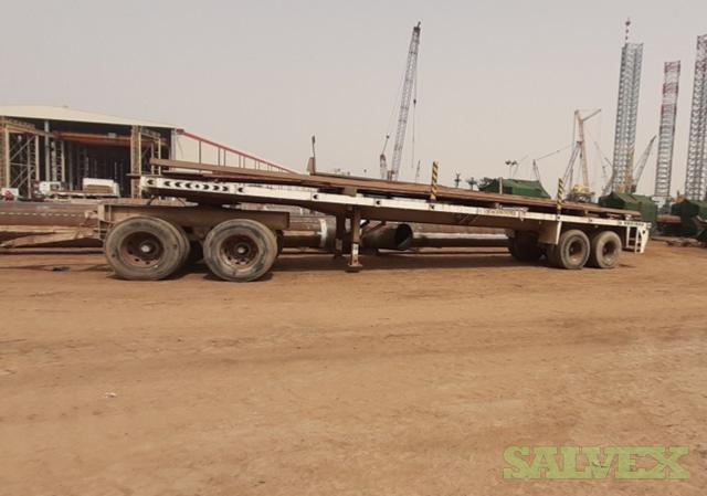 Flatbed and Seacom Trailers - for Shipyards (3 Units: 30 Ton, 40 Ton, 190 Ton)
