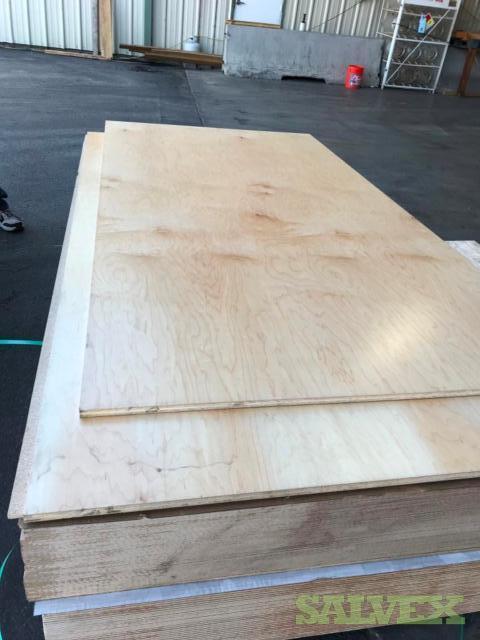 Alder Plywood and Mahogany MDF