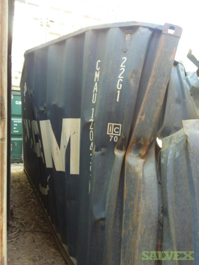 Scrap Metal - From 6 Shipping Containers in Chile (3 to 4.5 tons)