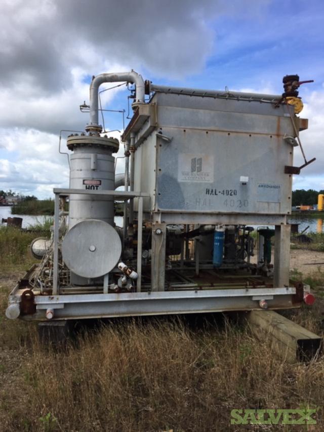 Ariel JGE/2 Compressor and Gardner Denver Screw SSUG Compressor