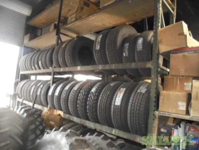 Tires from Service Station Fire Claim