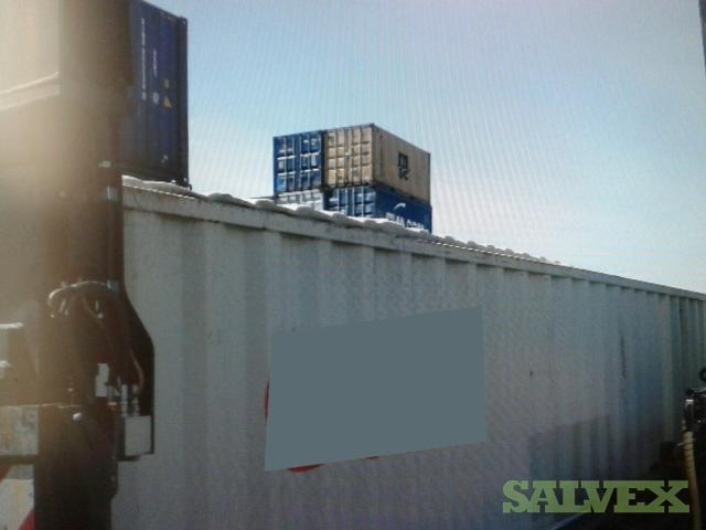 Shipping Container 40GP - Damaged (1 Unit / Baltimore, MD)