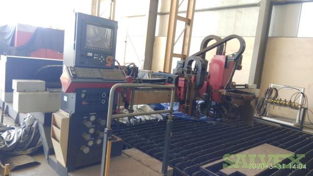 Metalworking Equipment: CNC Plasma Cutting Machine, Boring Machine, Drilling Radial Machine and Plate Bending Machine