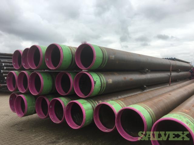 24 174# K55 BTC R3 Surplus Casing (800 Feet / 63 Metric Tons)