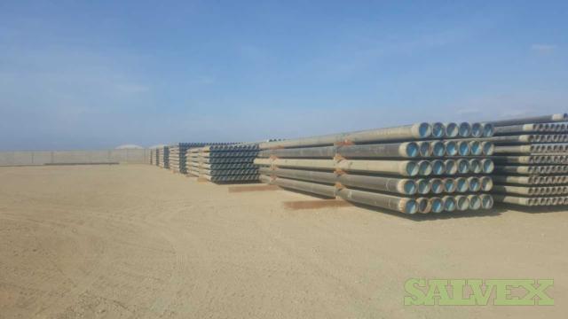 9 5/8 53.50# P110 Vam Top R3 Surplus Casing (52,840 Feet / 1,282 Metric Tons)