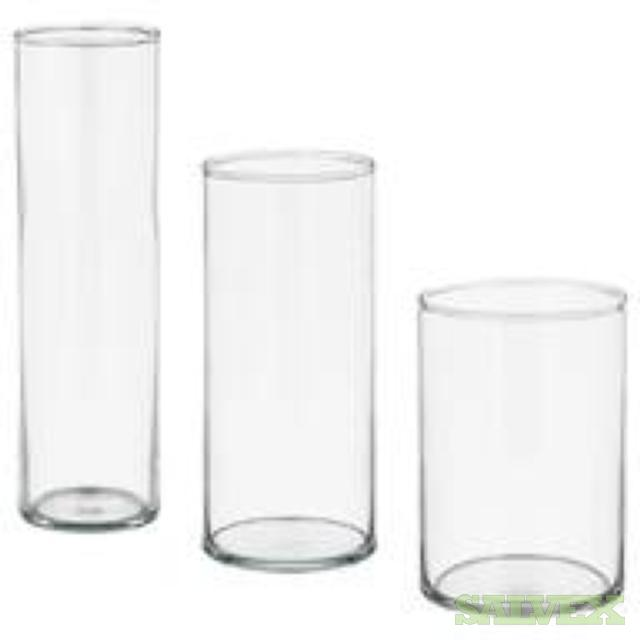 IKEA Home Furnishings: Glass Vase Sets, Book Cases, Chests, Table Mirrors (1,685 Items)