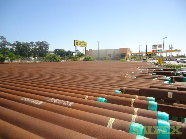 5.563 23.54# .429WT X65 SMLS Surplus Line Pipe (38,608 Feet / 412 Metric Tons)