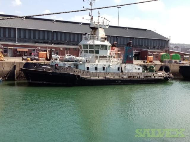 Tug Boat (400MT Lightweight, Sold As Scrap)