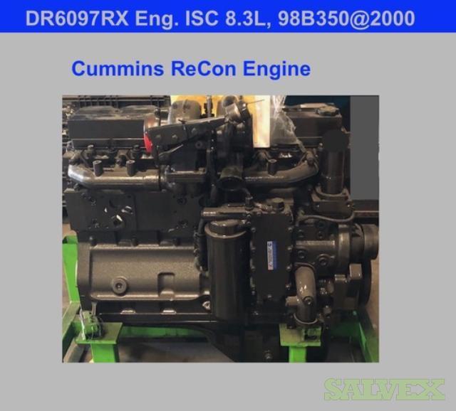 Cummins ISC 8.3L 98 350@2000 RPM Diesel Engine