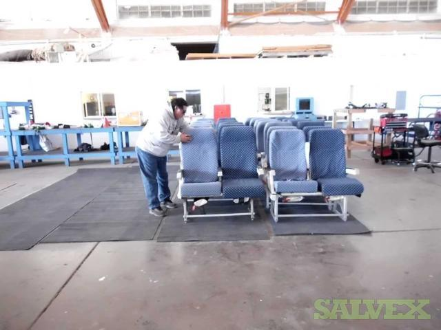 Full Shipset Economy Seats - for MD-83 Aircrafts (157 Seats)