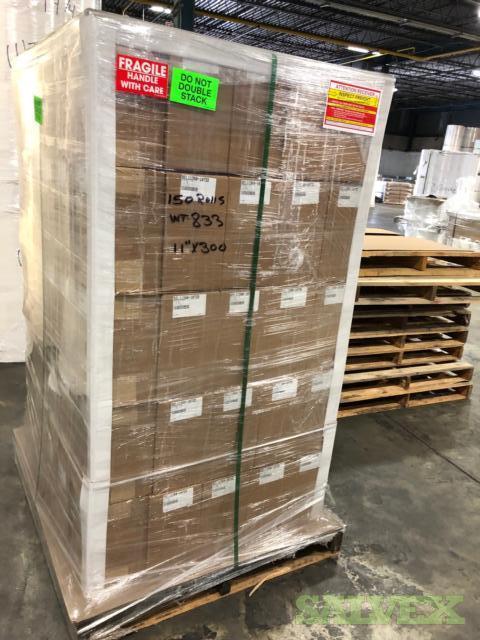 Tyvek 1073D Paper Rolls (Size: 11''; 36''; 60'' / 2,184 Rolls)