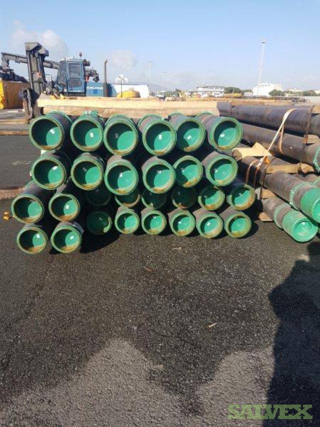 20 .625WT X56 S60MT Surplus Line Pipe (160 Feet / 9 Metric Tons)
