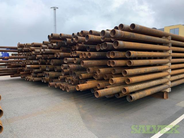 4 1/2- 13 5/8 Used Casing (464 Metric Tons)