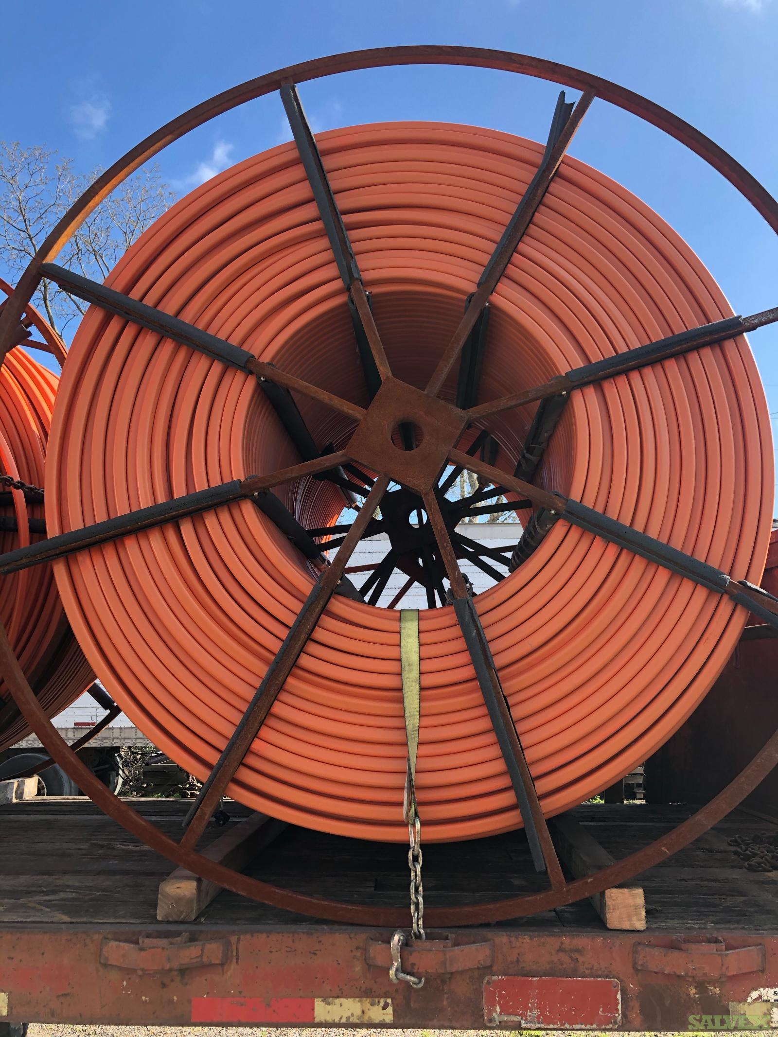 HDPE Duraline 4-Way Conduit Pipe (6,500 Feet / 10 Reels)