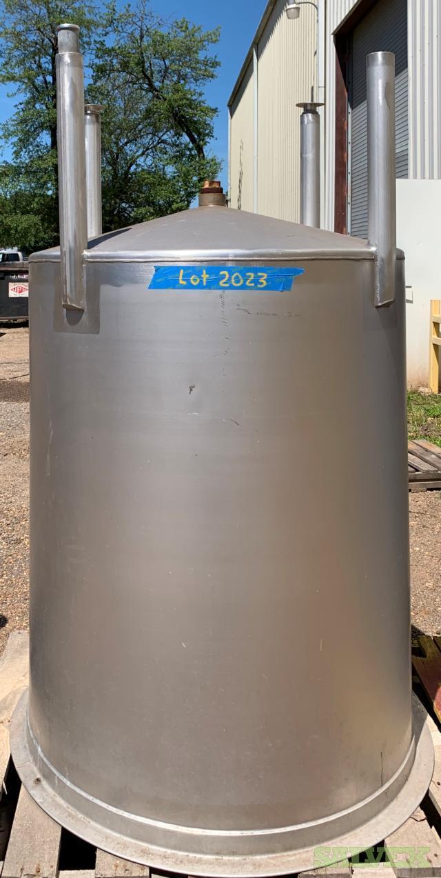 36 x 48 x 200 Gallon Stainless Steel Storage Tank