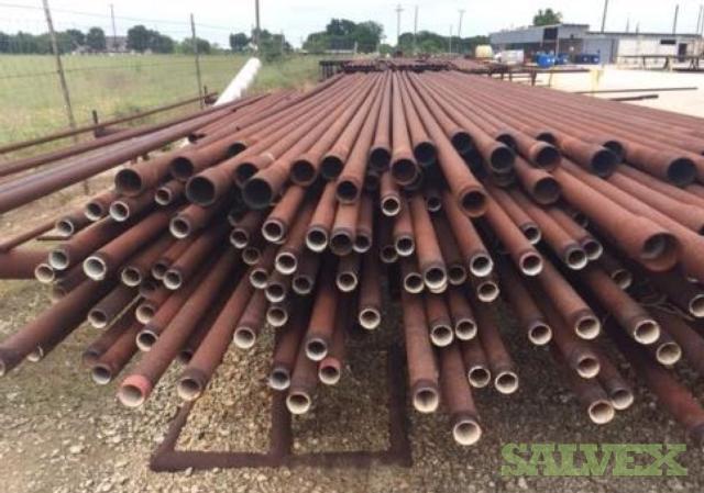 2 3/8 4.7# J55 8RD R2 Surplus Tubing (10,590 Feet / 23 Metric Tons)