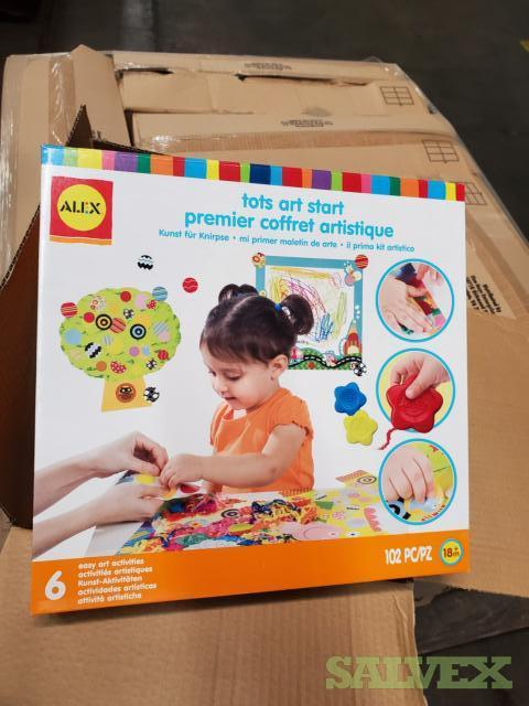 Art and Craft Items for Kids (166 Pallets)