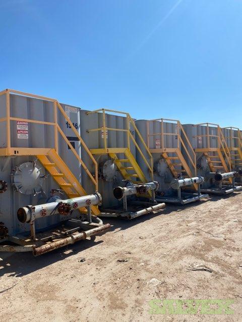 500-Barrel Frac Tanks (15 Units )
