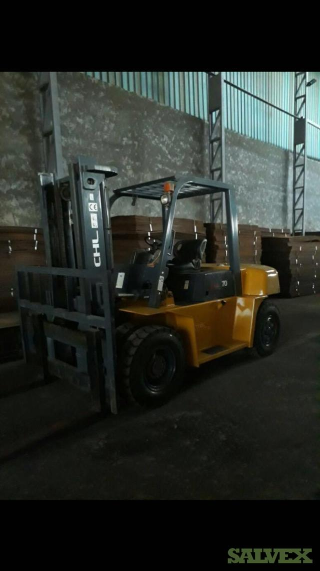 CHL Forklifts 2013 (2 Units / 7 Tons)