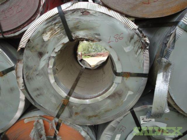 Prepainted Galvalume Steel Coils - Damaged  (196 Coils)