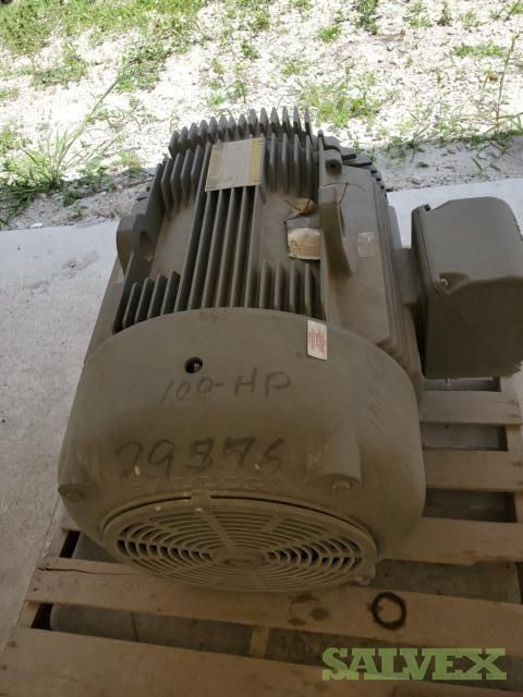 Baldor Electric Motor M4409T 100 HP in Florida