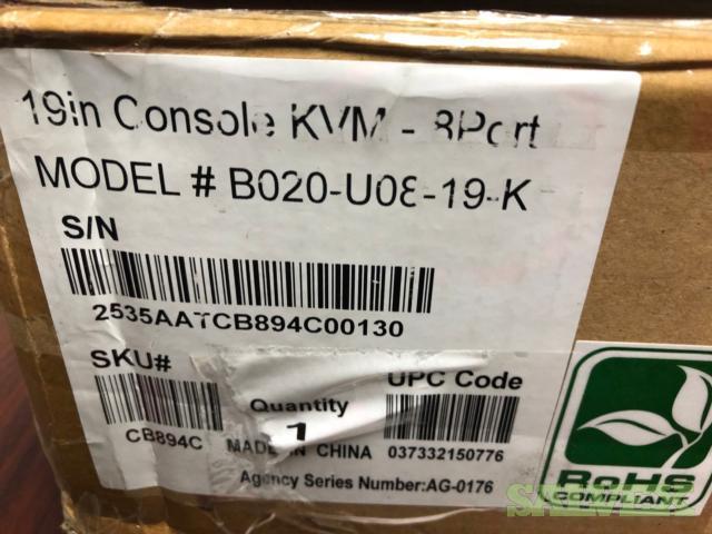 KVM switch Trip Lite - 10 Units
