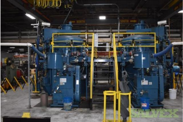 AVS Advanced Vacuum Systems Annealing Heat Treat Dual Furnace System