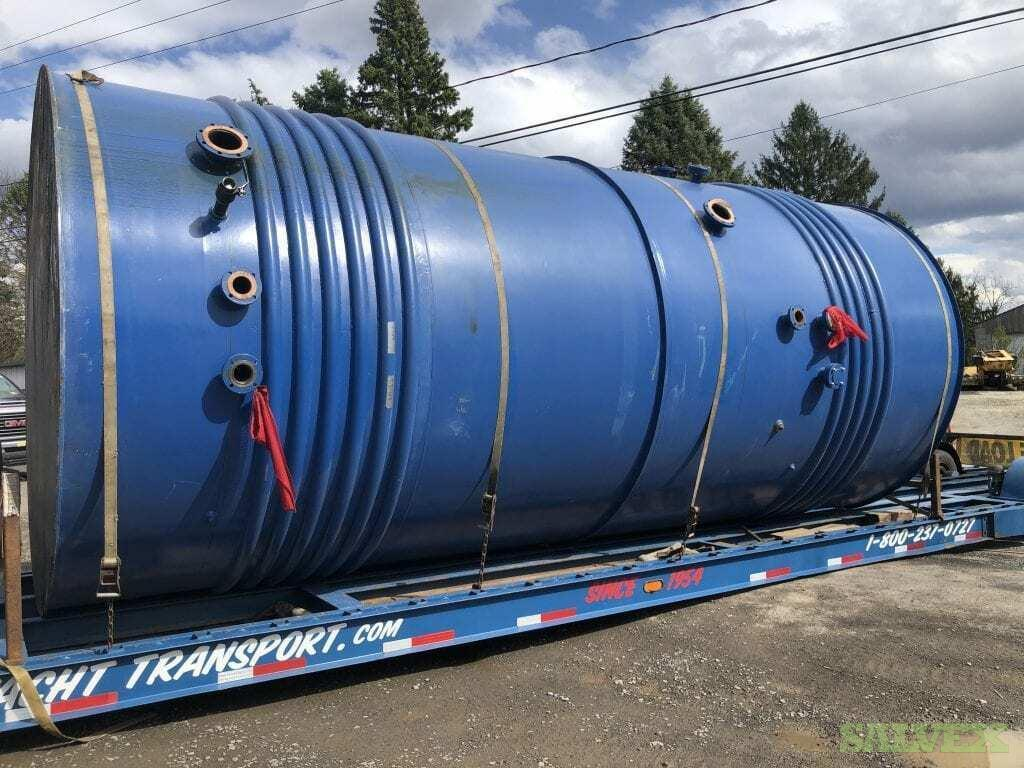 Jacketed Steel Vertical Flammable Liquid Multi-Comp Storage Tanks-12,000 Gallon