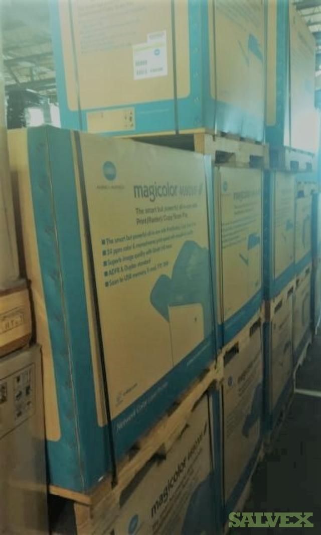Konica Minolta Printers In Ohio (218 Units / 40''Container Load)