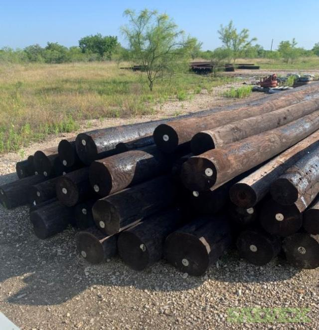 Power Poles - 35ft- 34 Poles