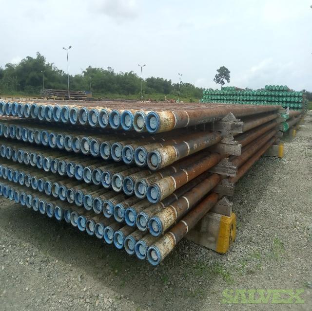 4 1/2 13.50# P110 JFE Bear R2 Surplus Tubing (5,700 Feet / 35 Metric Tons)