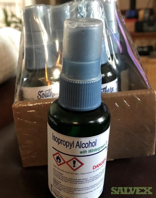 Southern Supply 2oz Bottle Isopropyl Alcohol With Wintergreen Oil  (100 dz / 1,200 Units)