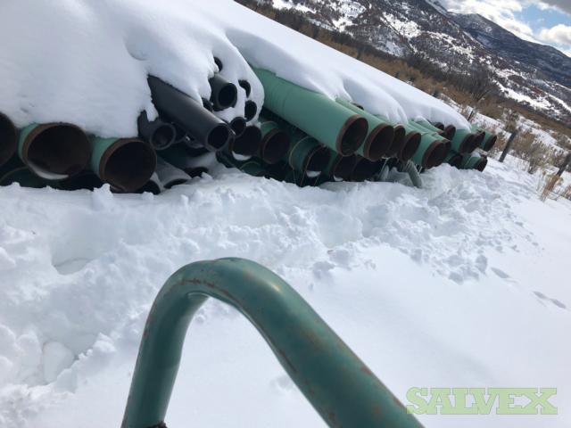 12 3/4  .250WT X52 FBE Surplus Line Pipe (3,000 Feet / 45 Metric Tons)