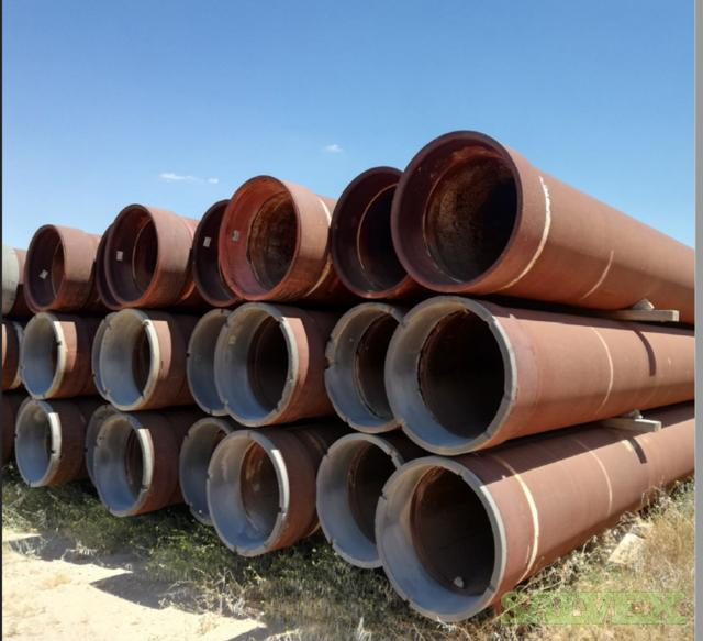 30 1.000WT X56 VETCO RL4 Surplus Line Pipe (1,440 Feet / 202 Metric Tons)