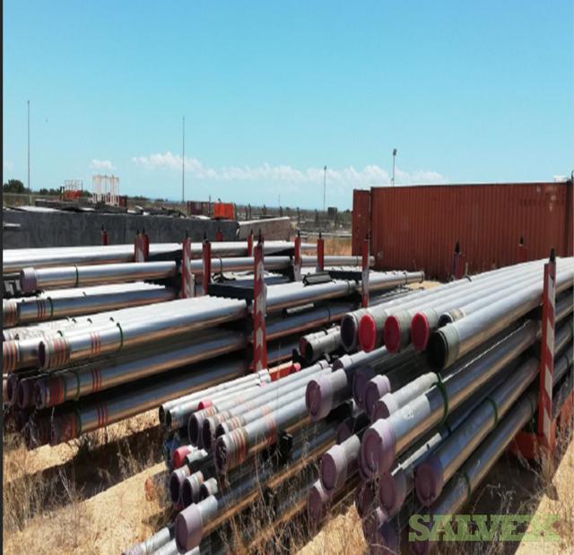 5 1/2 17# VM22-110 JFE Bear R3 Surplus Tubing (3,480 Feet / 27 Metric Tons)