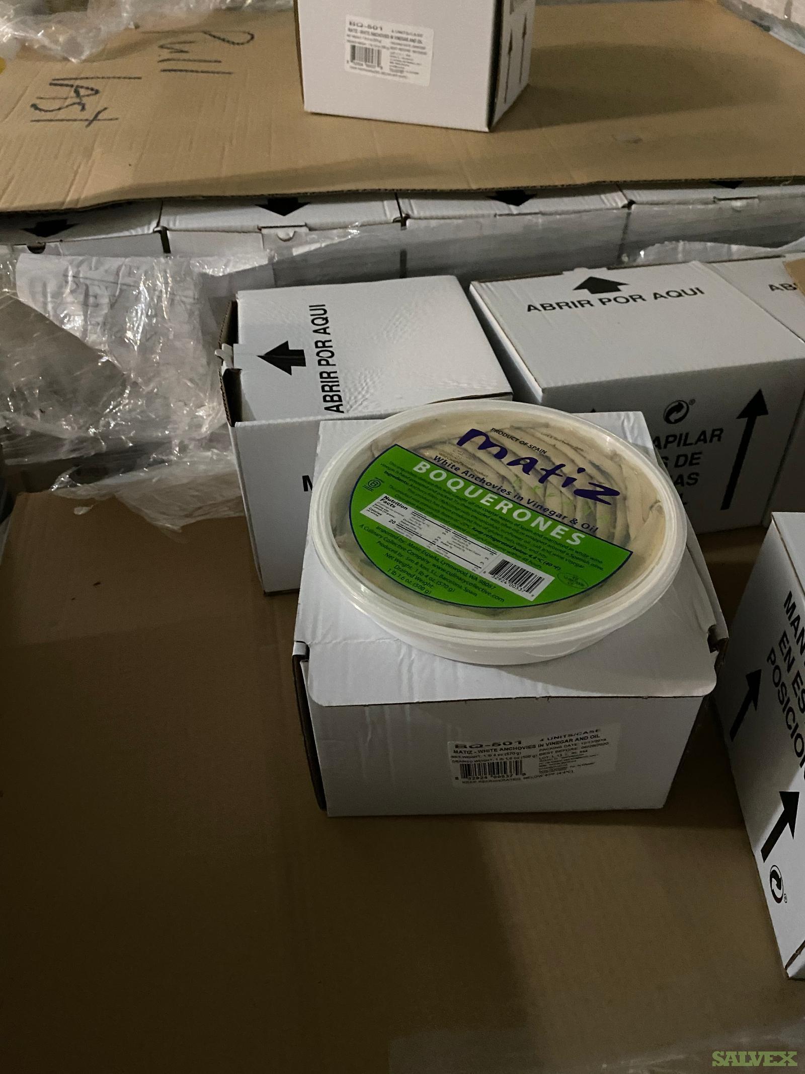 Marinated White Anchovies (Boquerones) (200 Cases)