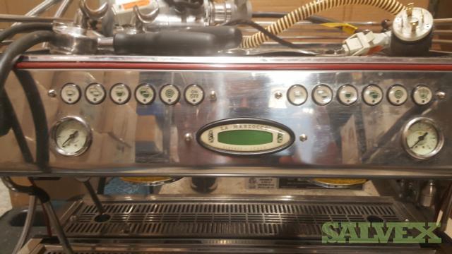 La Marzocco Espresso Machine  & Two Espresso Grinders