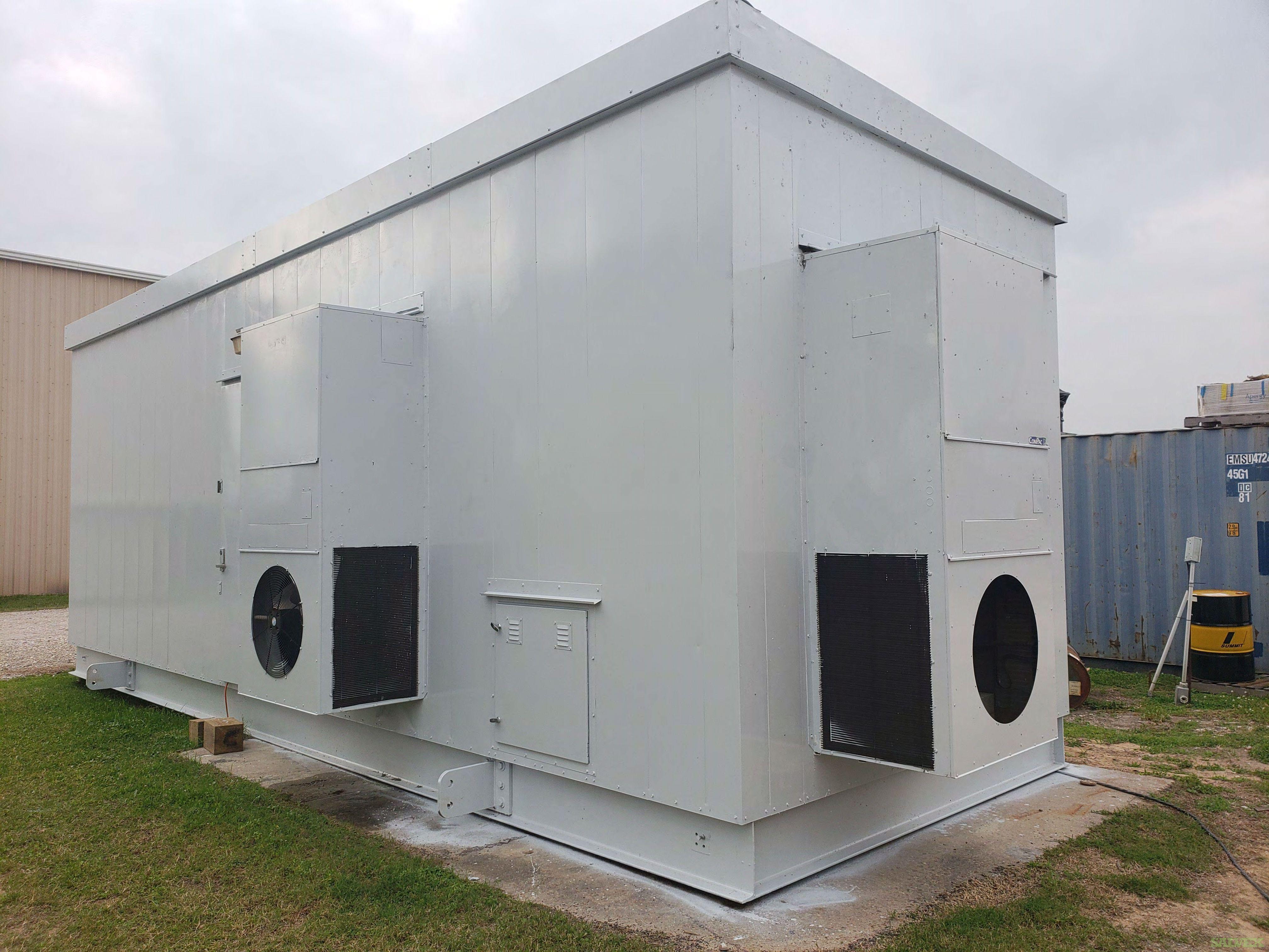 1400E Motor JGK4/1 Compressor Package with VFD in Building